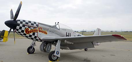 North American P-51D Mustang N251BP Buzzin Cuzzin, May 14, 2011